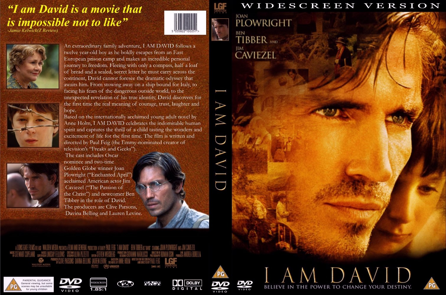 i am david I am david by anne holm is a very interesting, thrilling, and touching book although the book says it is for only 8 to 13 years old, i found the book is not only .
